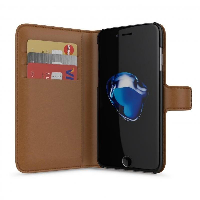 BeHello Portemonnee Hoes iPhone 8/7/6S/6 Bruin - 1