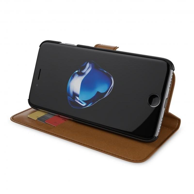 BeHello Portemonnee Hoes iPhone 8/7/6S/6 Bruin - 3