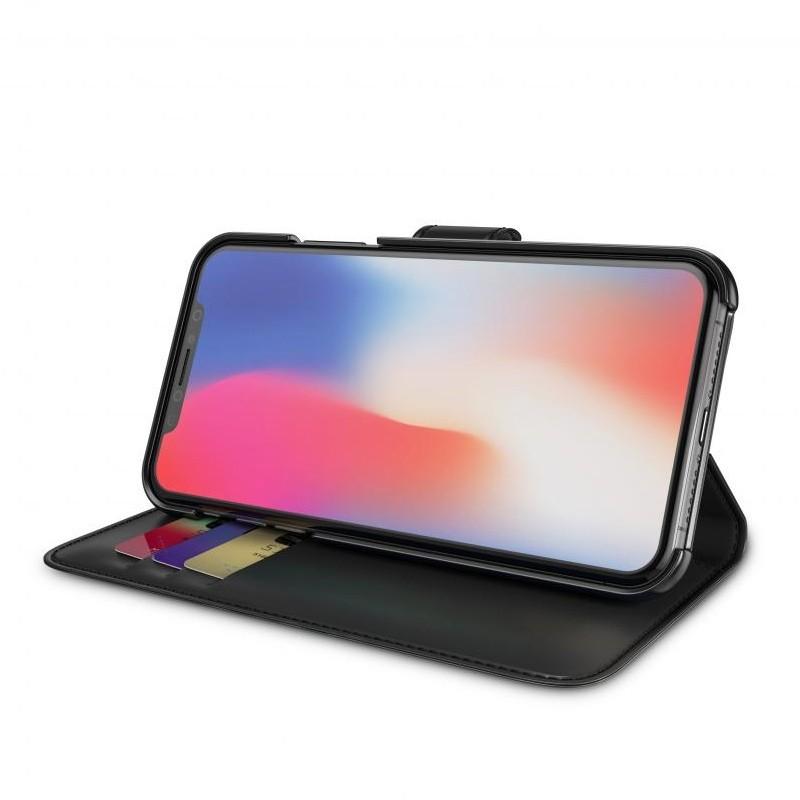 BeHello Wallet Case voor Apple iPhone X Zwart 03