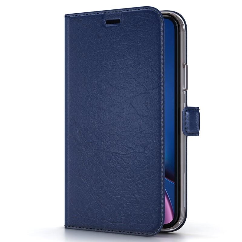 BeHello Wallet Case iPhone XR Blauw 01