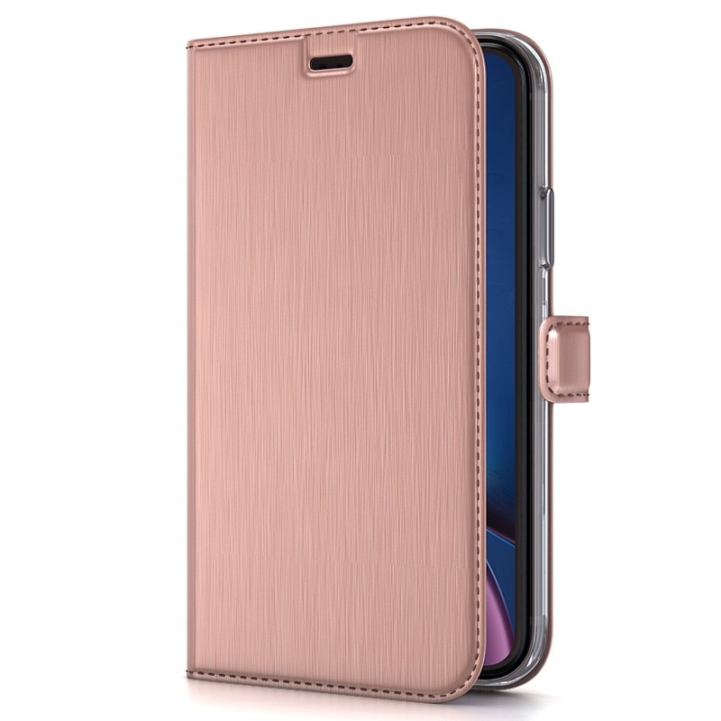 BeHello Wallet Case iPhone XR Roze 01
