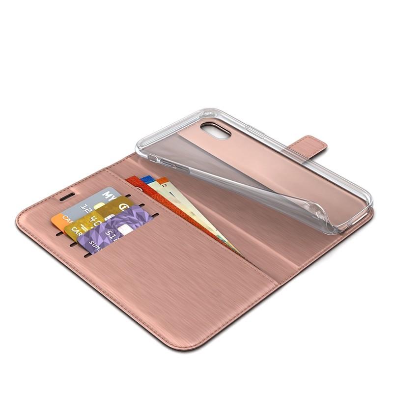 BeHello Wallet Case iPhone XR Roze 04