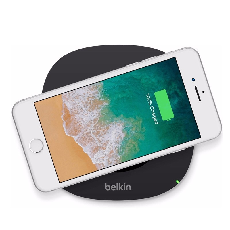 Belkin Boost Up 5W Wireless Charging Pad black 03