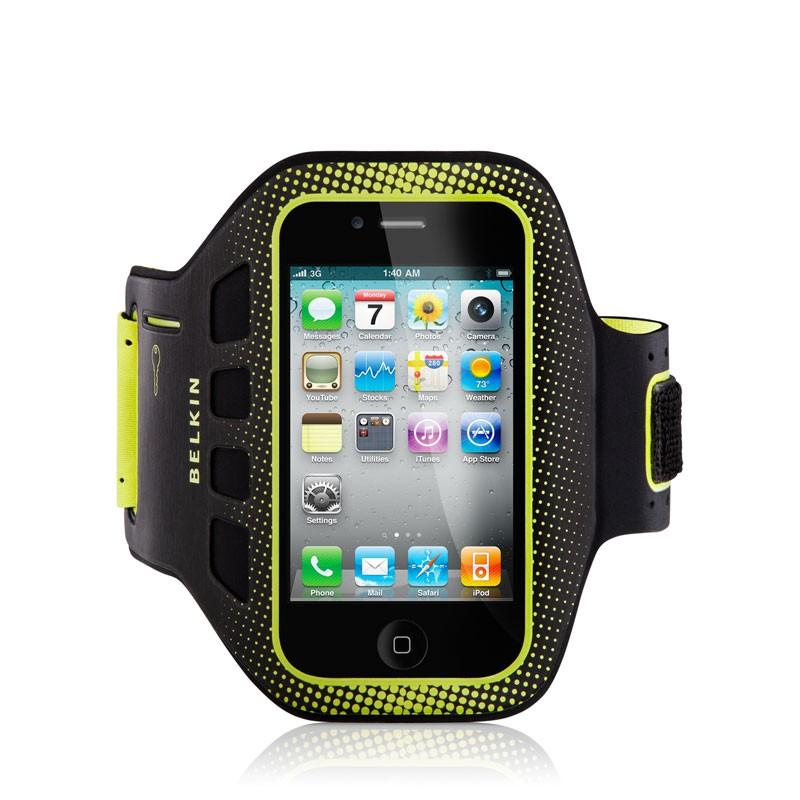 Belkin EaseFit iPhone 4(S) Sportarmband (yellow) 02