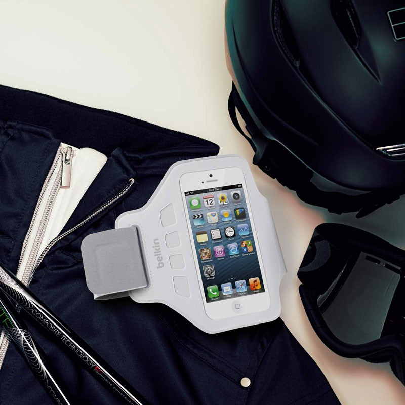 Belkin EaseFit Sportarmband iPhone 5 (White) 03