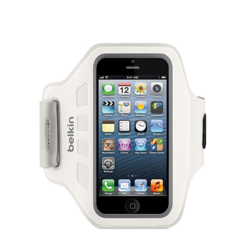 Belkin EaseFit Sportarmband iPhone 5 (White) 02