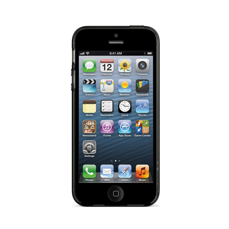 Belkin Grip Sheer Case iPhone 5 (Black) 05