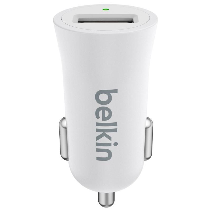 Belkin - Mixit Metallic Autolader 2,4A White 02