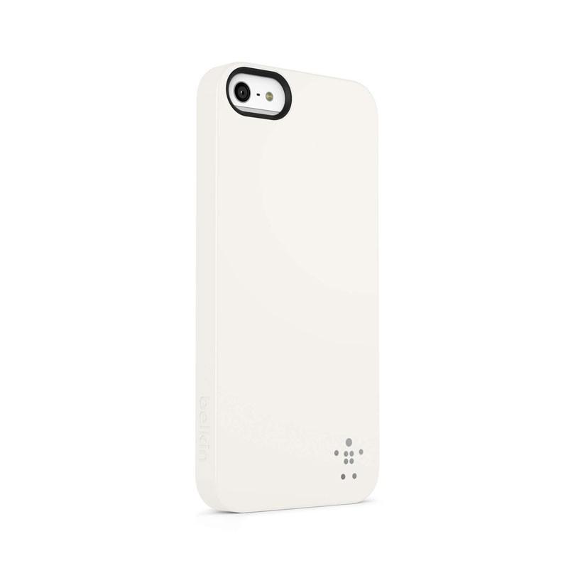 Belkin Shield Matte iPhone 5 (White) 01
