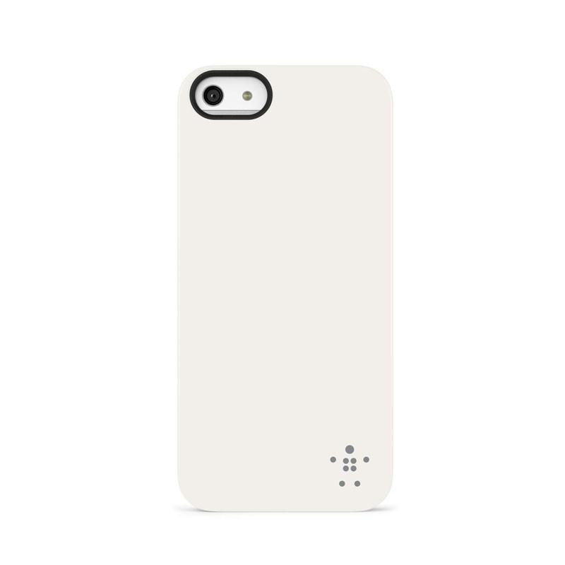 Belkin Shield Matte iPhone 5 (White) 03