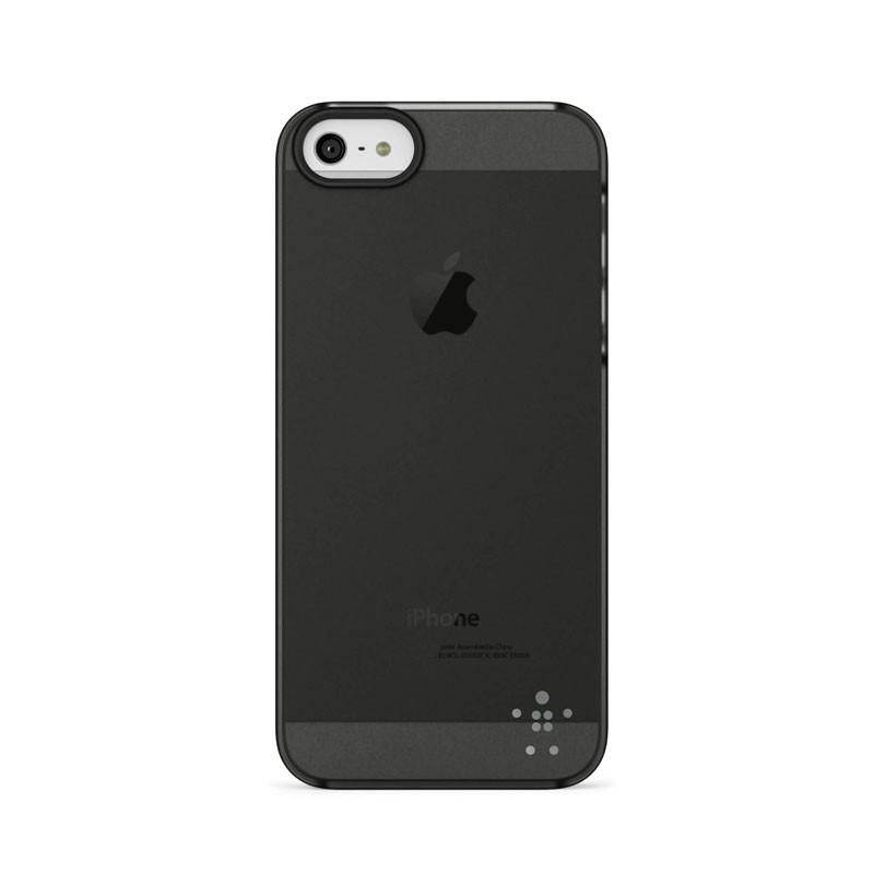 Belkin Shield Sheer Matte iPhone 5 (Black) 04