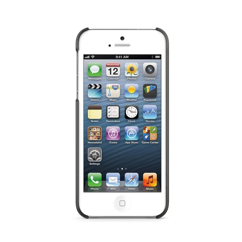 Belkin Shield Sheer Matte iPhone 5 (Black) 06