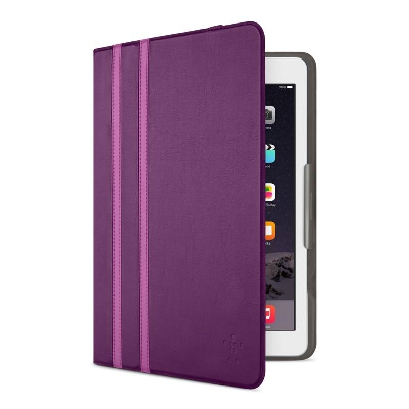 Belkin Twin Stripe Folio iPad 2017/Pro 9.7/Air 2/Air Paars - 1
