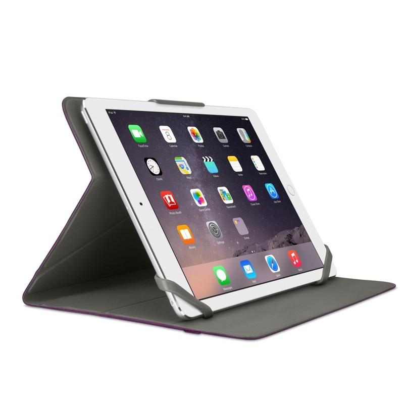 Belkin Twin Stripe Folio iPad 2017/Pro 9.7/Air 2/Air Paars - 3