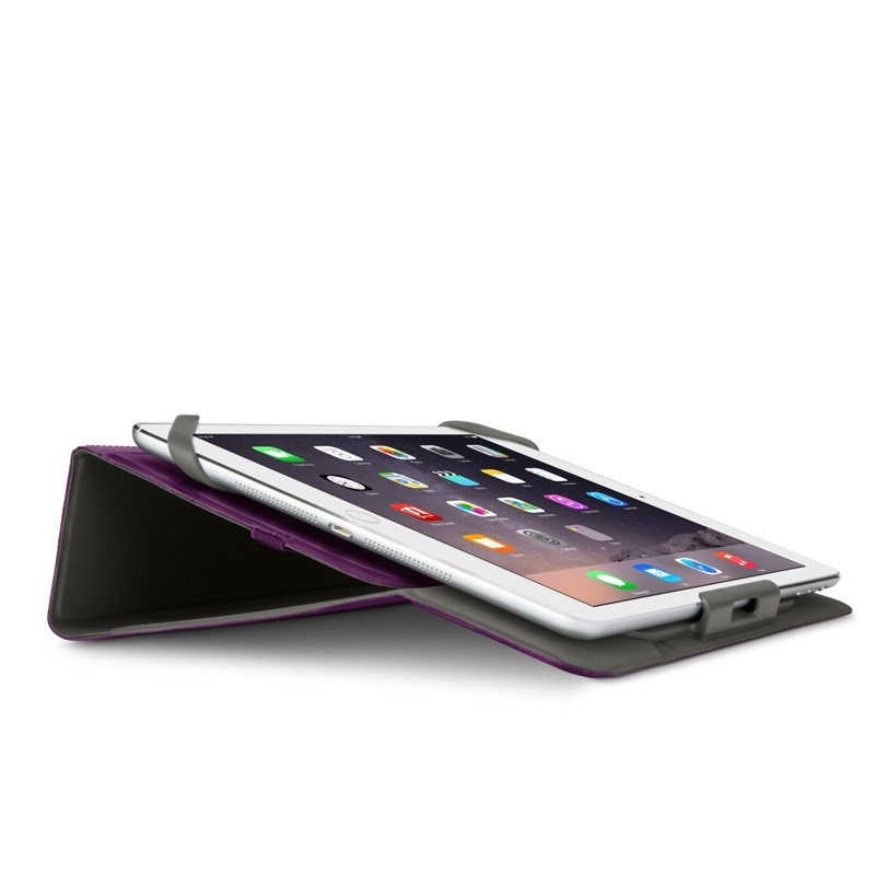 Belkin Twin Stripe Folio iPad 2017/Pro 9.7/Air 2/Air Paars - 4