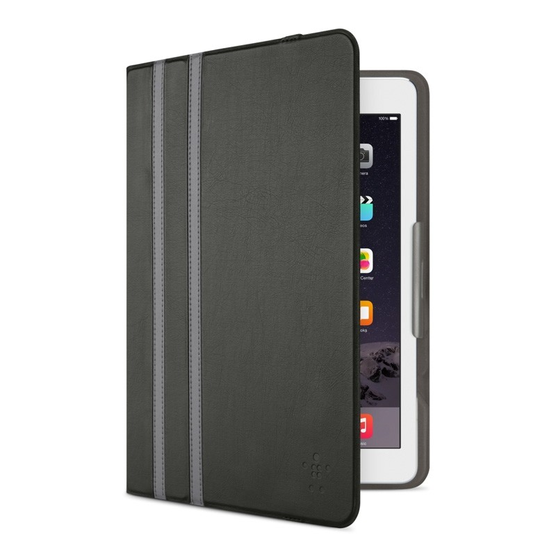 Belkin Twin Stripe Folio iPad 2017/Pro 9.7/Air 2/Air Zwart - 1