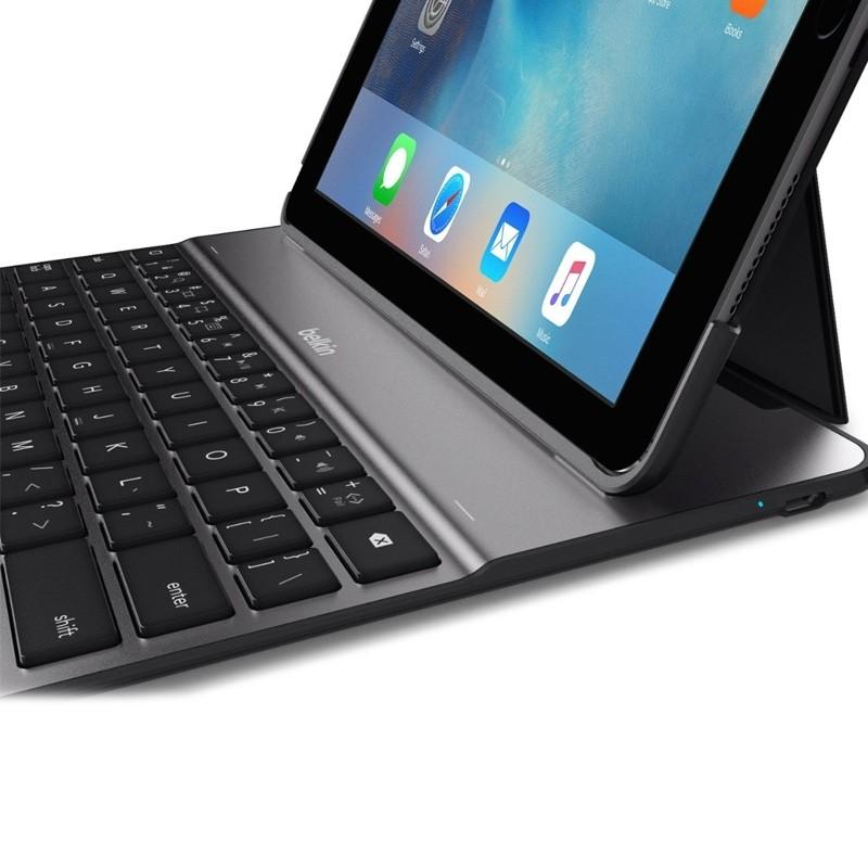 Belkin - Ultimate Lite Keyboard Case iPad 2017 / iPad Air Black - 5