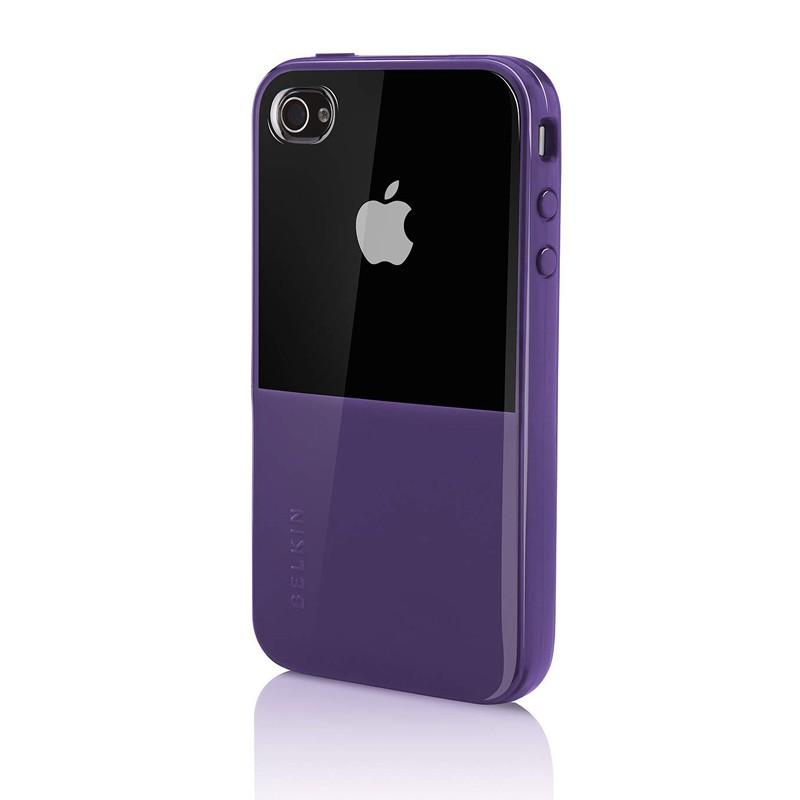 Belkin Shield Eclipse iPhone 4 Purple - 2
