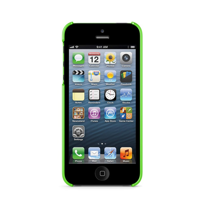Belkin Shield iPhone 5 Green - 3
