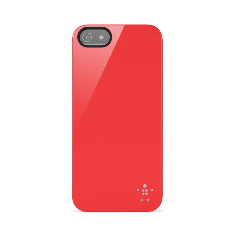 Belkin Shield iPhone 5 Red - 1