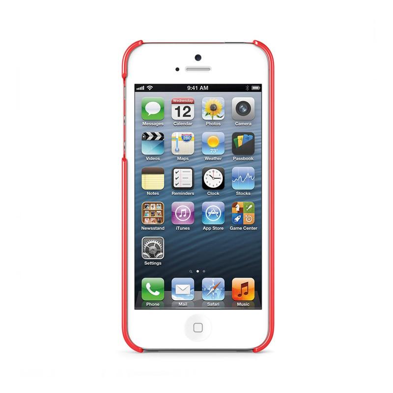 Belkin Shield iPhone 5 Red - 4