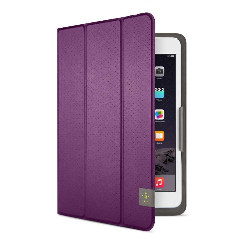Belkin Twin Stripe Folio iPad mini 4 Purple - 4
