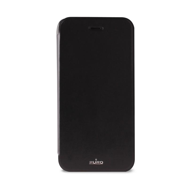 Puro - Eco Leather Wallet iPhone 6 Plus Black - 1