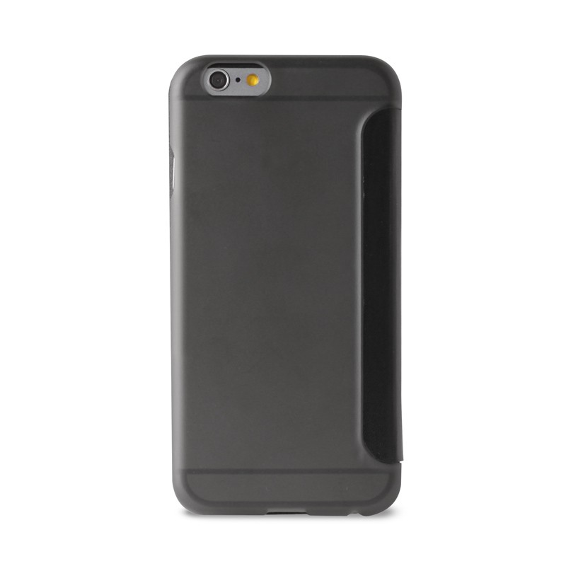 Puro - Eco Leather Wallet iPhone 6 Plus Black - 2