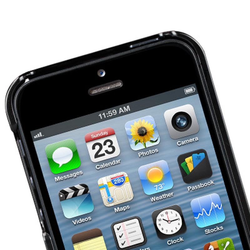 Sena Lugano Kontur iPhone 5/5S Black - 4