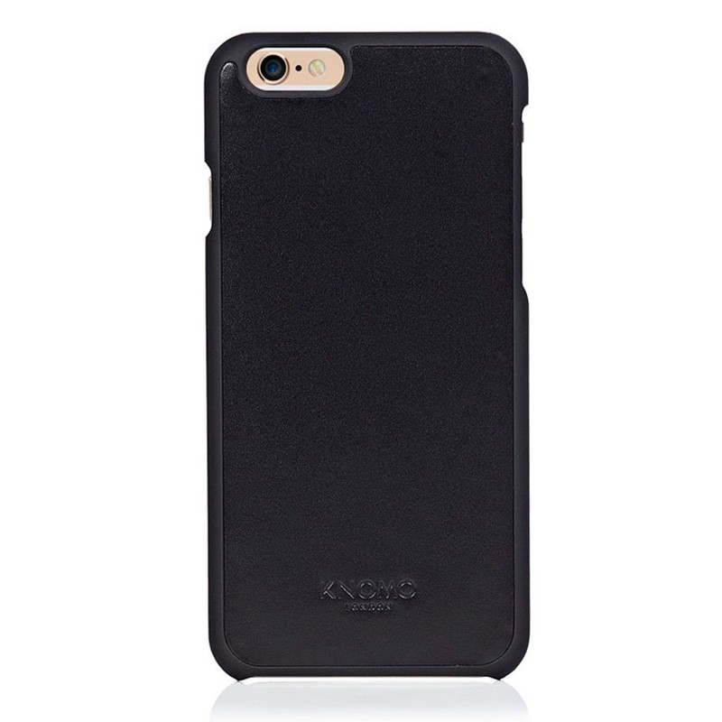 Knomo Leather Snap Case iPhone 6 Plus Blue - 1