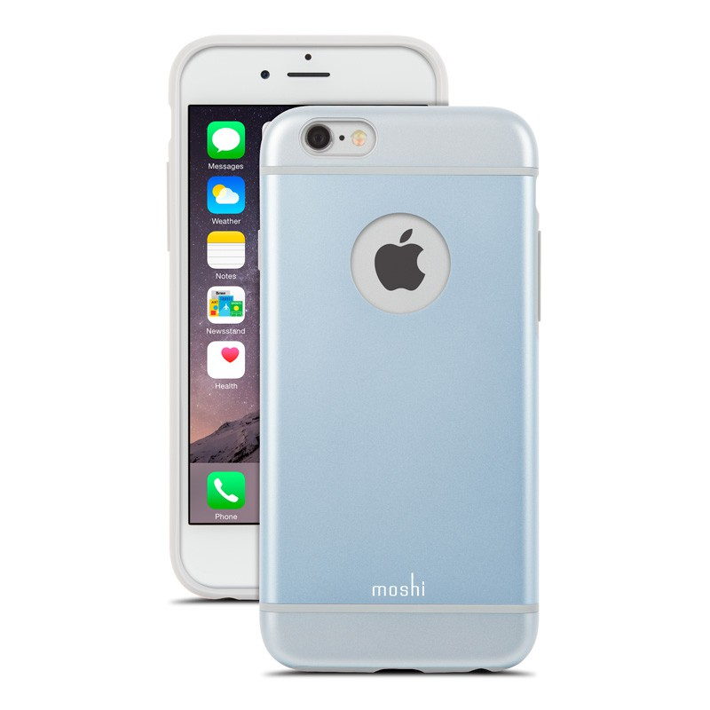 Moshi iGlaze iPhone 6 Blue - 1