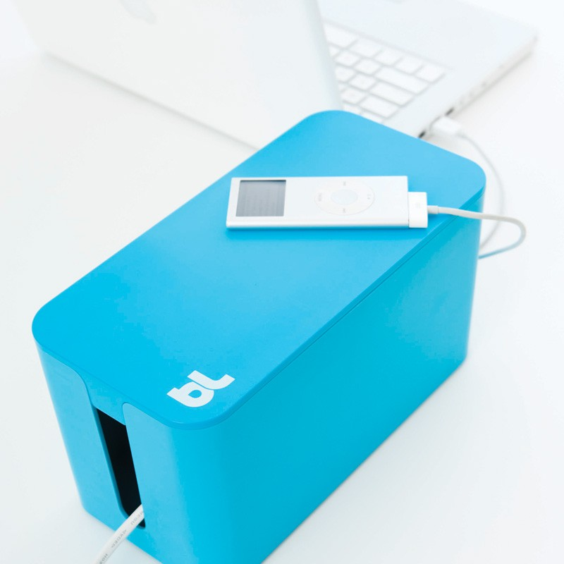 Bluelounge Cablebox Mini Yellow  - 3