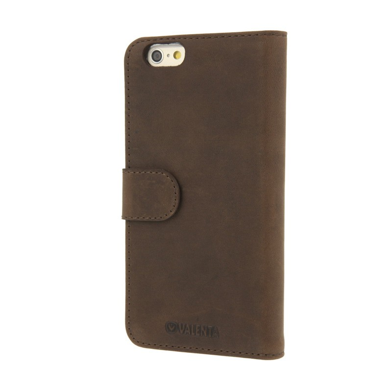 Valenta Booklet Case iPhone 6 Vintage Brown - 1