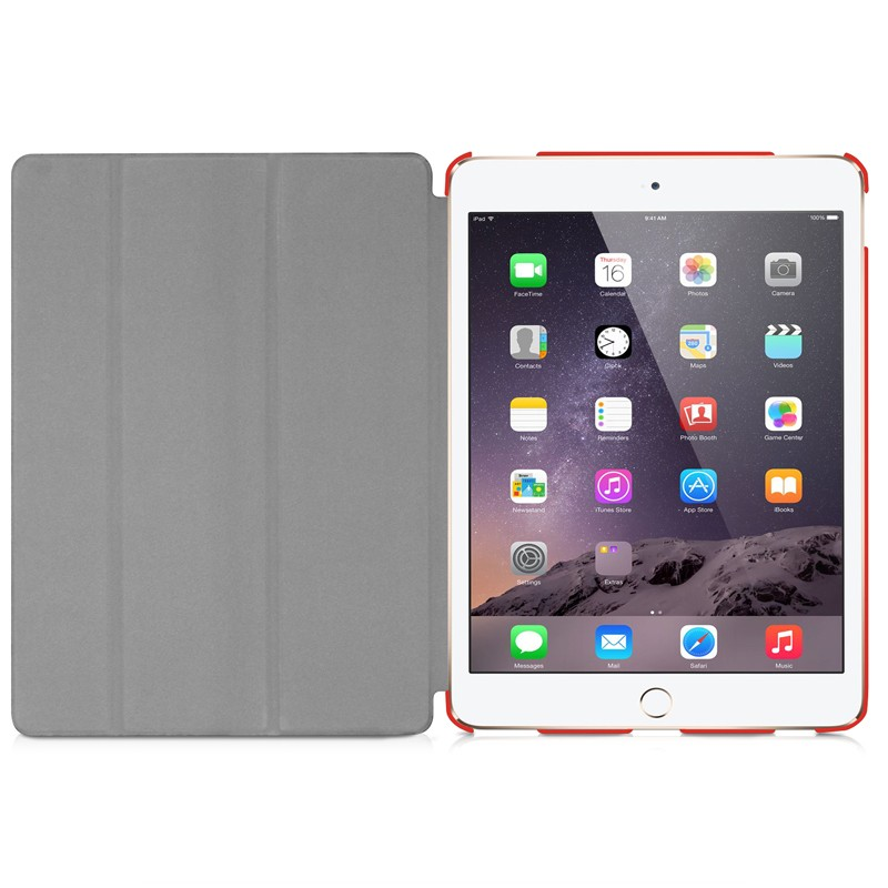 Macally Bookstand iPad Pro Red - 4