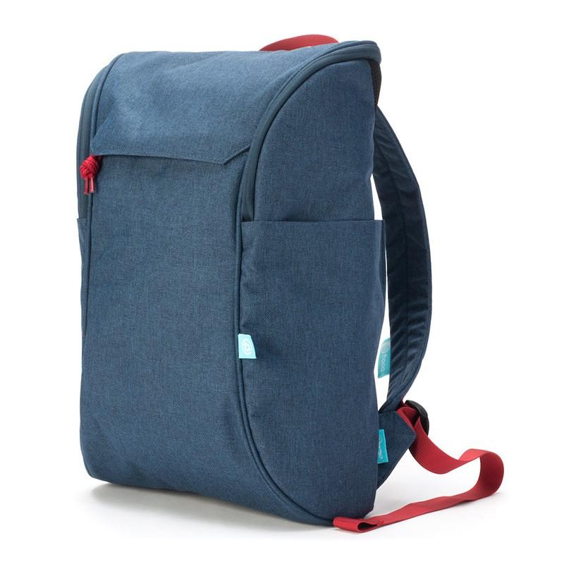 Booq Daypack 15,6 inch Laptop Rugzak Navy-Red 01