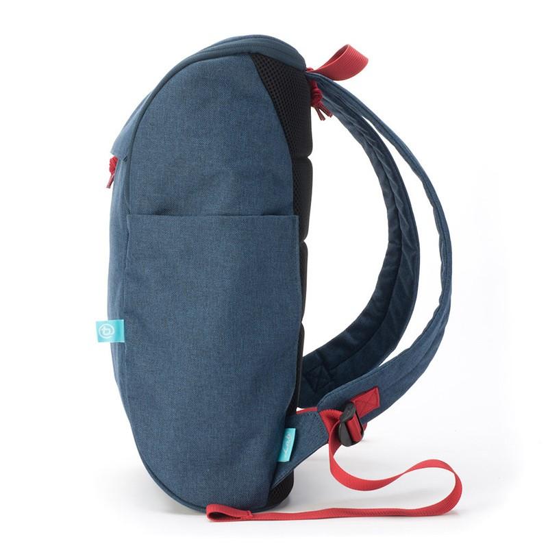 Booq Daypack 15,6 inch Laptop Rugzak Navy-Red 03