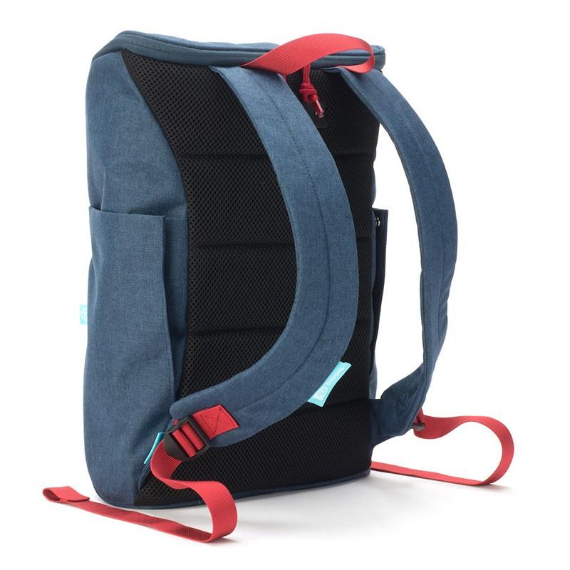 Booq Daypack 15,6 inch Laptop Rugzak Navy-Red 04
