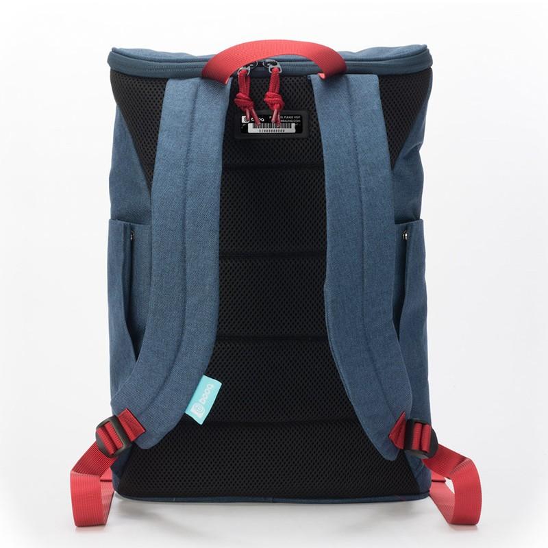 Booq Daypack 15,6 inch Laptop Rugzak Navy-Red 05