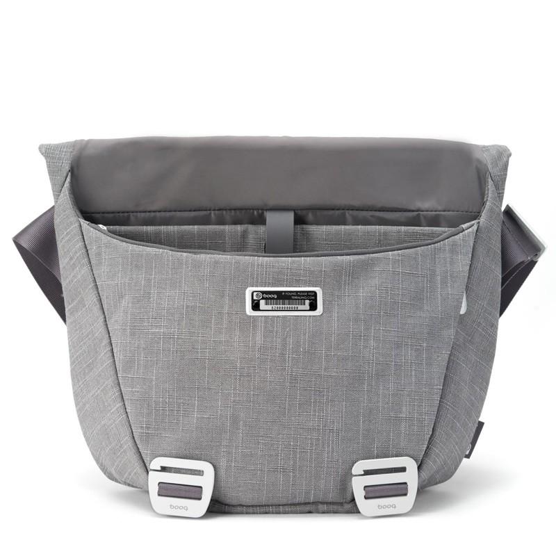 Booq - Shadow 15 inch Laptop Messenger Grey Fiber 04