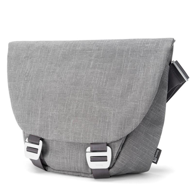 Booq - Shadow 15 inch Laptop Messenger Grey Fiber 02