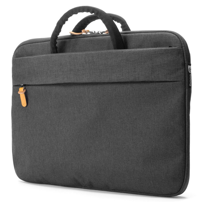 Booq - Superslim 13 inch Laptoptas Black Tan 01