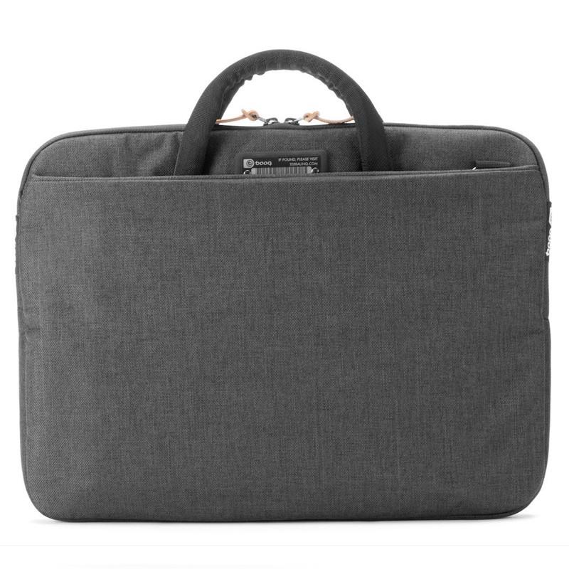 Booq - Superslim 13 inch Laptoptas Black Tan 05