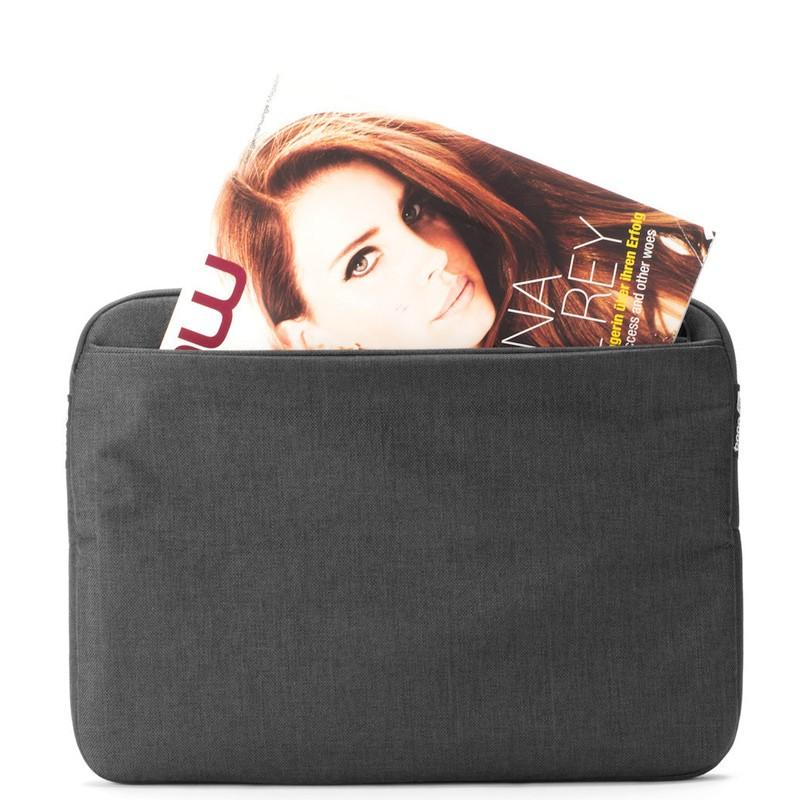 Booq - Superslim 13 inch Laptoptas Black Tan 06