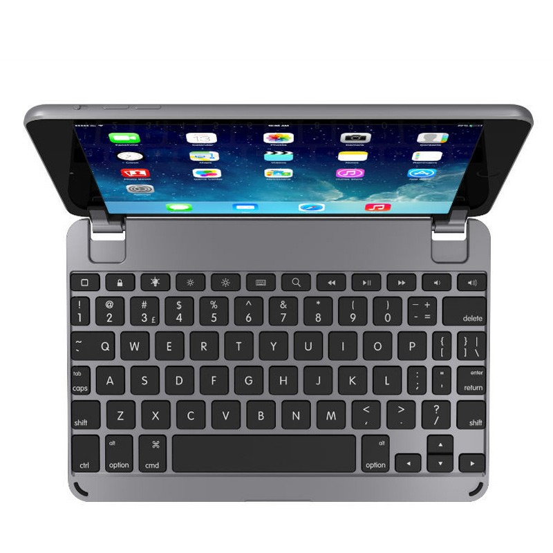 Brydge - Keyboard 7.9 inch iPad mini 4 Space Grey 02