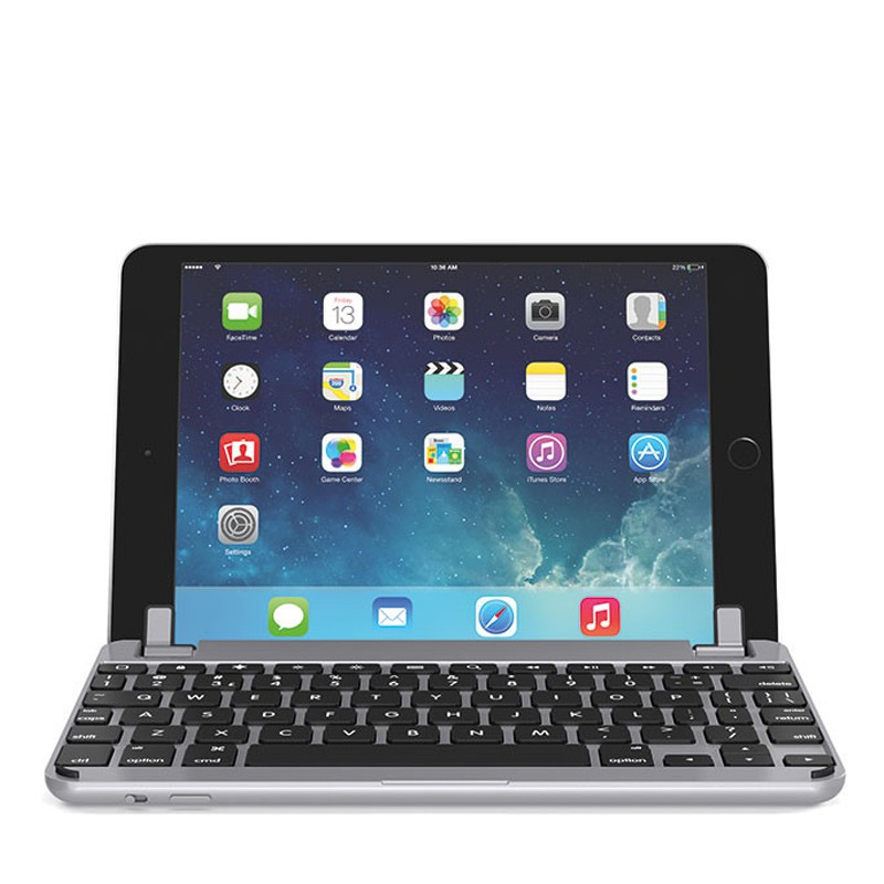 Brydge - Keyboard 7.9 inch iPad mini 4 Space Grey 03