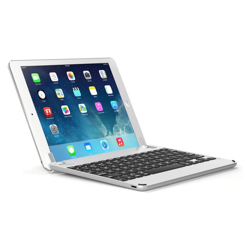 Brydge - Keyboard 9.7 iPad Air/Air 2/Pro 9.7 Silver 01