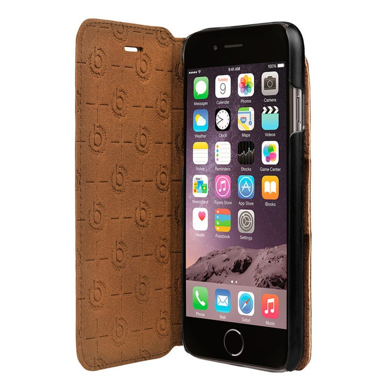 Bugatti Book Cover Parigi iPhone 7 Brown - 1