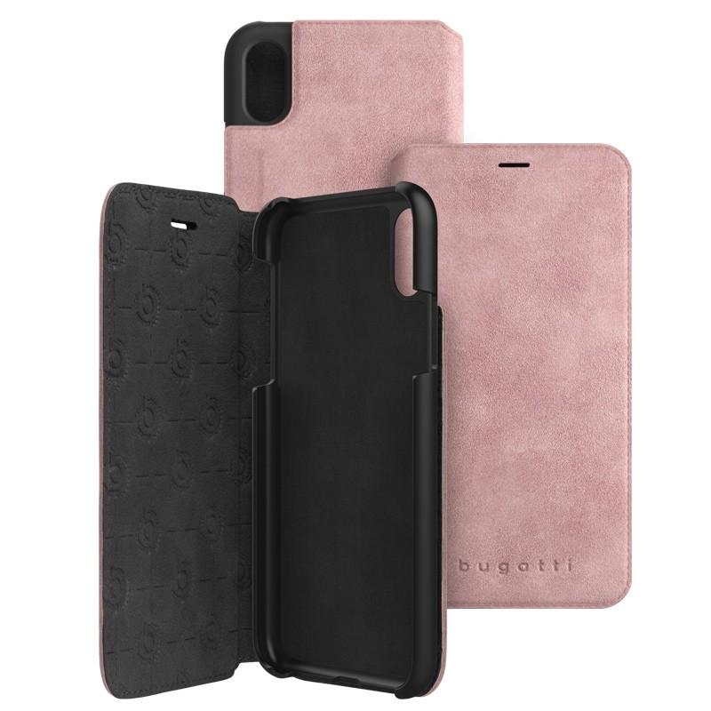 Bugatti Parigi Ultra Suede iPhone X/Xs Opal Pink - 1