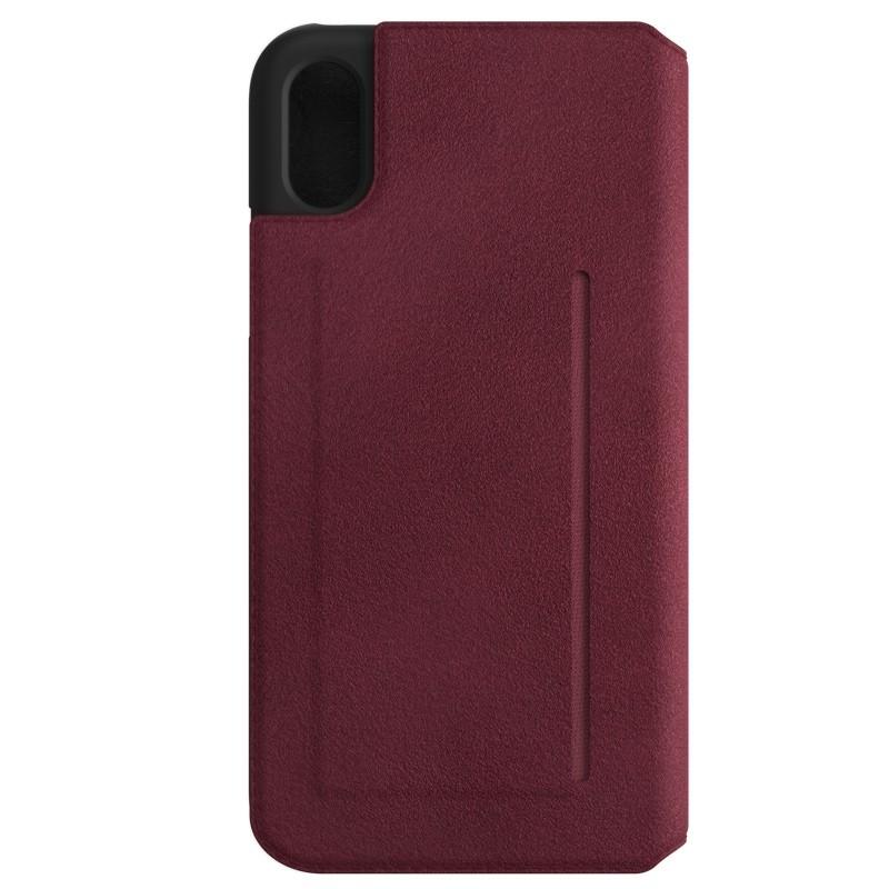 Bugatti Parigi Ultra Suede iPhone X/Xs Raspberry Red - 3
