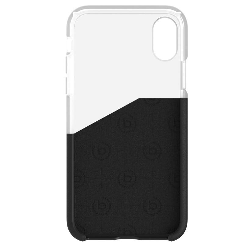 Bugatti Premium See Through Case iPhone X Black/Clear - 3